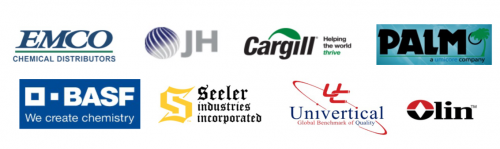Logos of our commodities strategic vendors