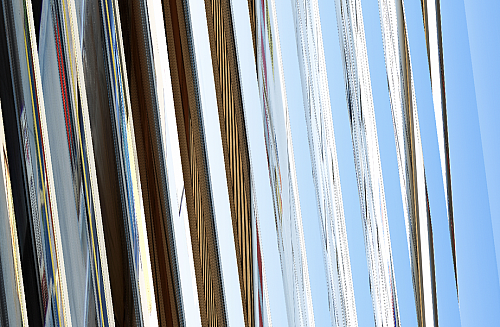 Metal reflection background vertical