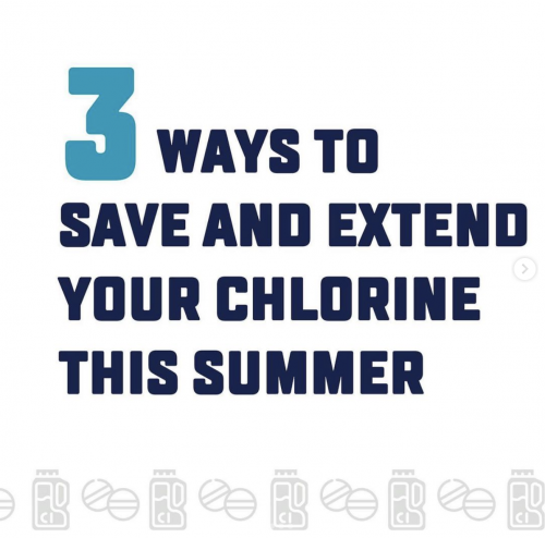 Swipe for 3 ways to extend and save chlorine this season! Link in bio to learn more!!#balance #clean #remove #3waystosavesanitizer #havilandpoolandspa