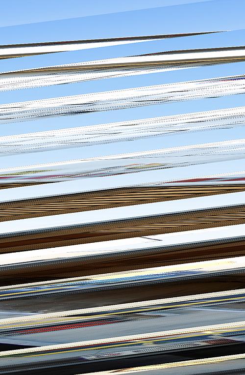 Metal reflection background horizontal